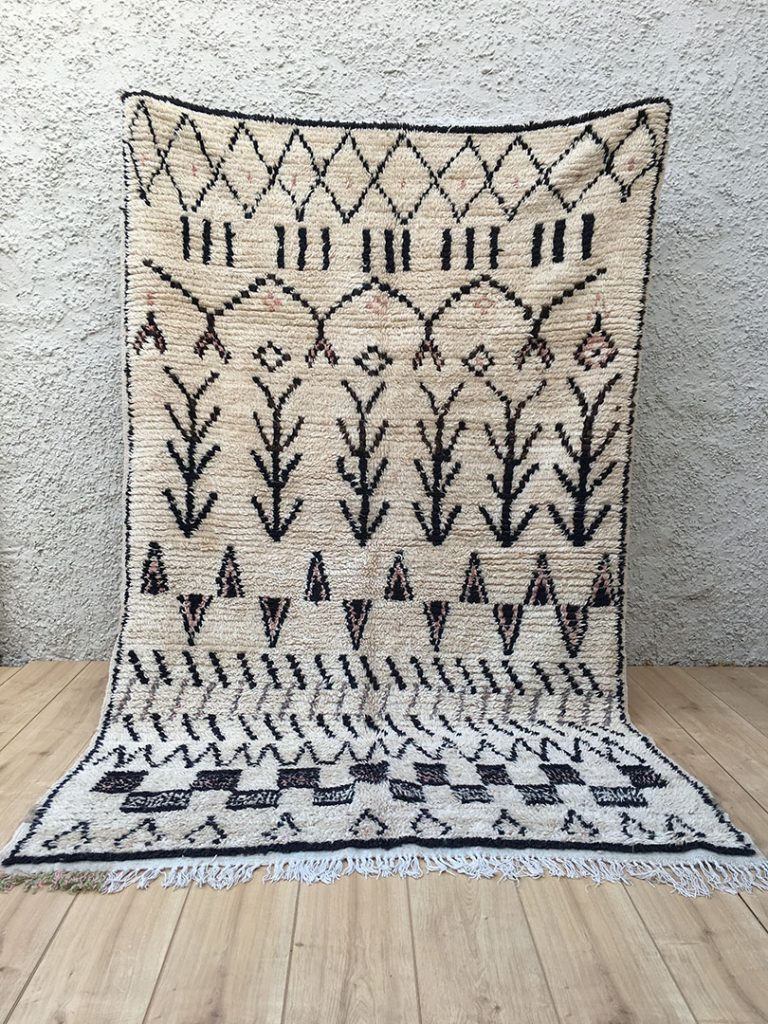 Unique East Unique | Vintage Moroccan Rug-Azilal (250×150 cm) A-027 PQ53