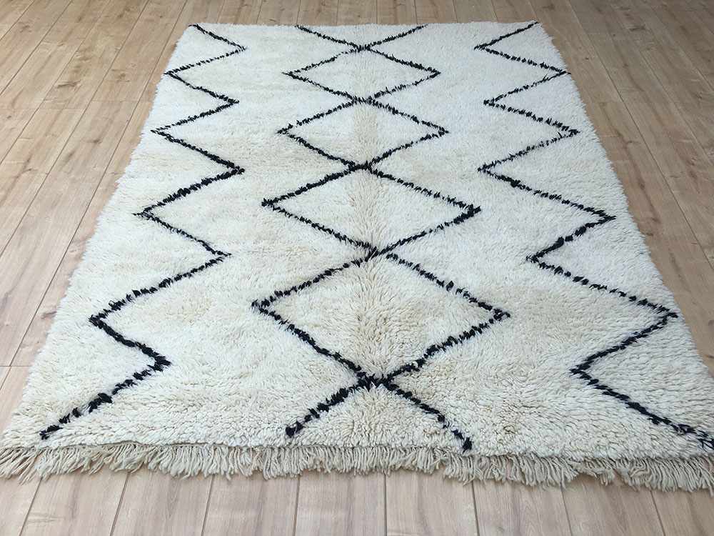 moroccan rug tapis berbere moroccan berber rug tribal rug designer rug - Tapis Beni Ouarain