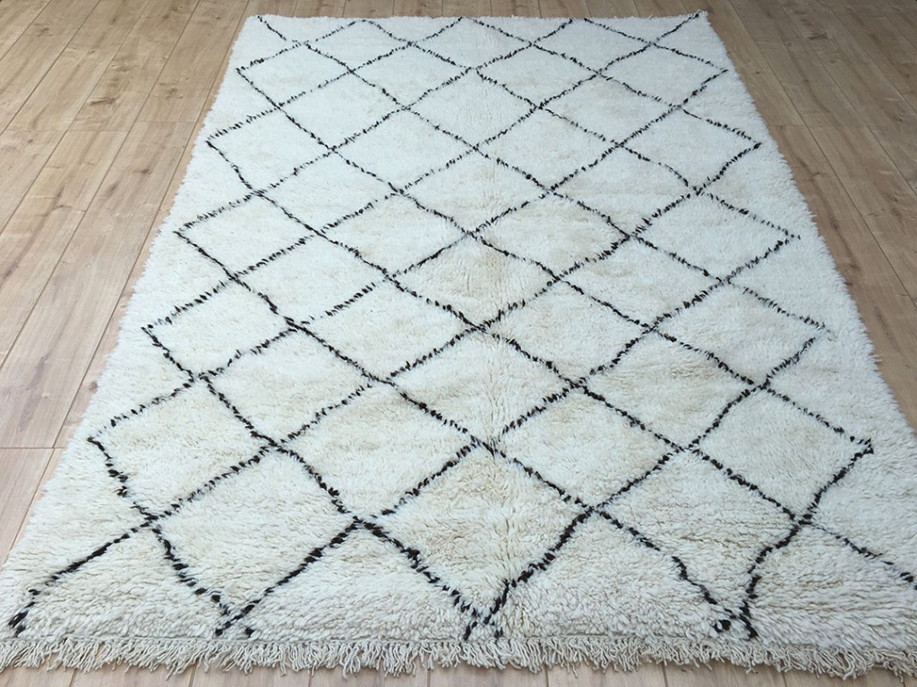 waved products kenitra cream rug net moroccan