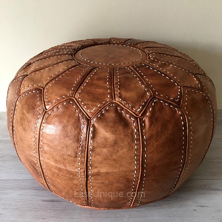 Shop Linon Moroccan Mekenes Camel Brown Rug: Camel Brown, Natural Embroidery