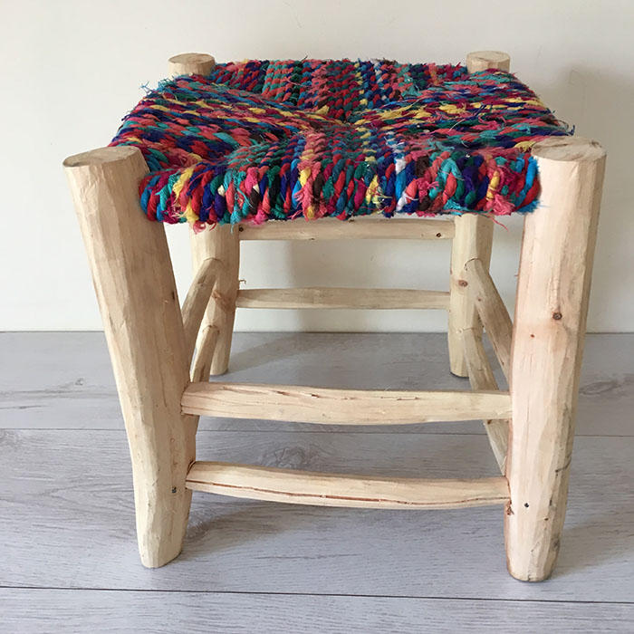 handmade-wooden-stool-02 ... & East Unique | Handmade Moroccan Rustic Tabouret Stool islam-shia.org