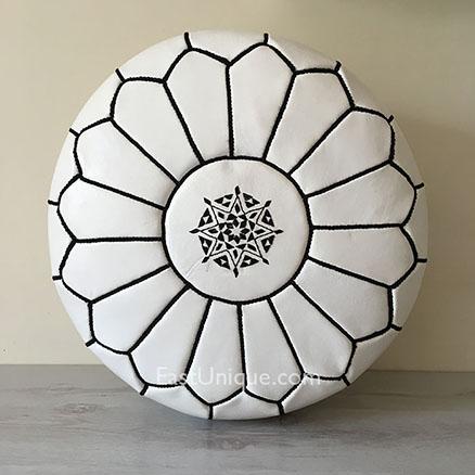 moroccan-leather-pouffe-east-unique-exclusive-white-black-12