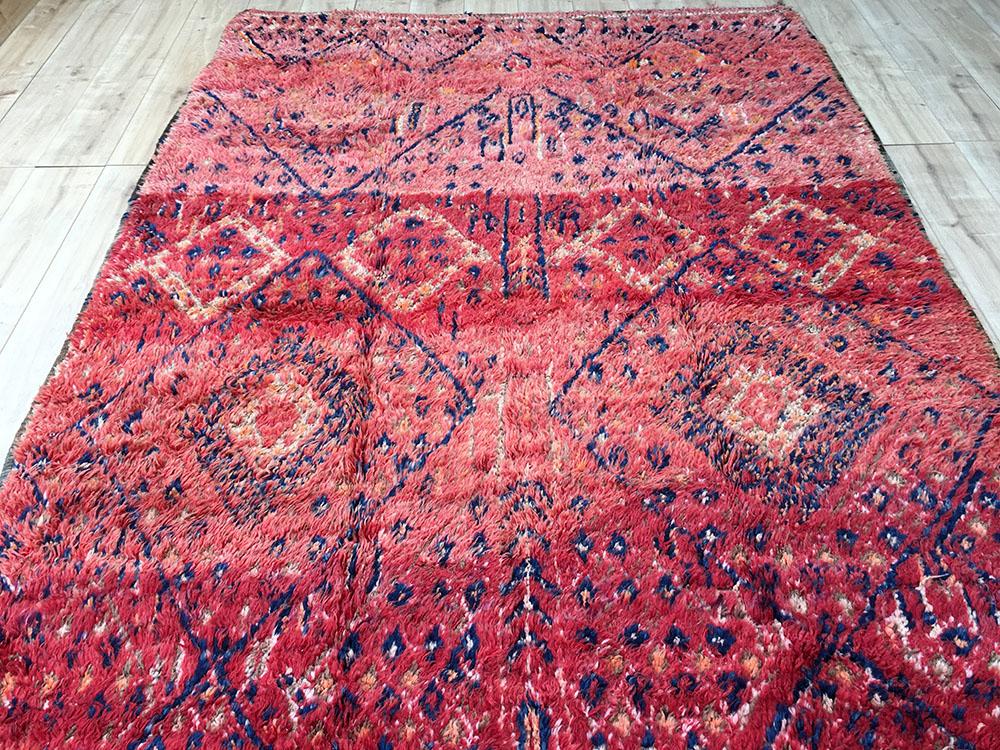 Vintage Moroccan Rug Beni Mguild Berber Rug 320x200cm Bg