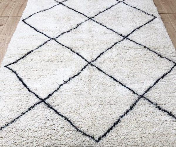 moroccan rug-berber rug-beni ourain